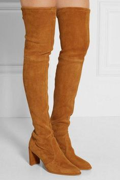 1aafee1590b Stuart Weitzman - Tieland suede over-the-knee boots
