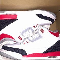 bc34afb603d Air Jordan 3s Brand new barely worn Jordan Shoes Athletic Shoes Jordan Red