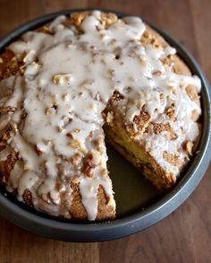 Sour Cream Scones, Sour Cream Coffee Cake, Coffee Cream, Food Cakes, Cupcake Cakes, Cupcakes, Bakery Recipes, Dessert Recipes, Cake Cover
