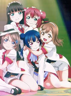IT'S CANON All Anime, Anime Love, Anime Art, Yandere, Edgy Kid, Love Live School Idol Project, Strawberry Shortcake Characters, Concept Art Tutorial, Anime Friendship
