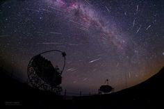 LA IMAGEN DESTACADA DE LA SEMANA: Rayos gamma y polvos de cometa