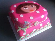 Dora birthday cake Torte per Tutti Harleys Dora birthday