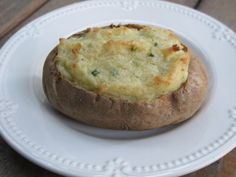 Twice Baked Potatoes.  Excellent blog for low FODMAP recipes in general.