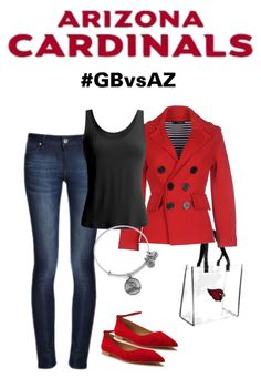 Arizona Cardinals Gameday Attire #AZCardinals #NFLFanStyle #GBvsAZ