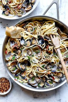 The Highest Three Chicory Espresso Manufacturers - Include A Novel Taste On Your Cup Of Joe Easy Linguine With Clam Sauce Vongole Clam Recipes, Best Pasta Recipes, Fish Recipes, Seafood Recipes, Cooking Recipes, Healthy Recipes, Cooking Tips, Clam Pasta, Seafood Pasta