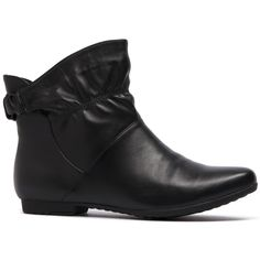 DRIFT- Not only is this ankle boot gorgeous and versatile, but it also has an elastic band behind the ankle to help create the perfect fit! Fall Boots, Black Ankle Boots, Cropped Pants, Perfect Fit, Looks Great, Legs, Band, Create, Winter