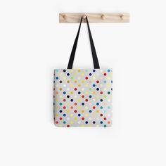 'Random multicolor polka dots paper texture' Tote Bag by WesternExposure Polka Dot Paper, Polka Dots, Poplin Fabric, Iphone Wallet, Sell Your Art, Tote Bags, Paper Texture, Hand Sewing, Original Artwork