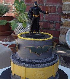 Cause He Is Batman Was A Dark Knight Pinterest Batman - Dark knight birthday cake