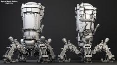 ArtStation - Josh Flores | Spice Mech Robot, Media Arts & Animation