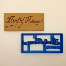Image result for harry potter cookie cutters