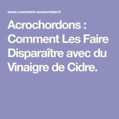 Acrochordons : Comment Les Faire Disparaître avec du Vinaigre de Cidre. Health, Genre, Solution, Stuff Stuff, Lift Off, Vinegar, Salud, Health Care, Healthy