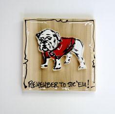 Georgia Bulldogs/ Heidi Hensley