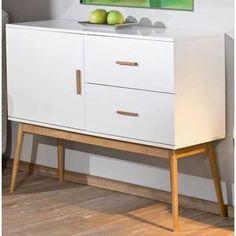 Commode 2 tiroirs + 1 porte MELANIE - Achat / Vente commode de chambre Commode 2…