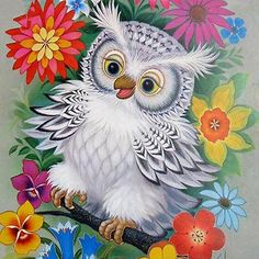 Diamond Painting Cross Stitch Diy Diamond Mosaic Cartoon Owl Full Square Drill Diamond Embroidery Home Decoration Resin Owl Photos, Owl Pictures, Mosaic Pictures, Graffiti Kunst, Owl Embroidery, Embroidery Online, Owl Wallpaper, Owl Cartoon, Diamond Art