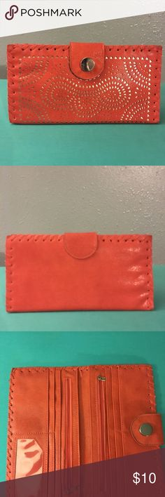 Orange Wallet Great for the summer! Bags Wallets