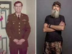 Si Robertson (from the show Duck Dynasty) is an Army Veteran who served in Vietnam. He retired from the Army in 1993.