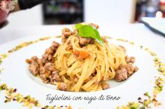 Tagliolini con ragù di tonno - Powered by @ultimaterecipe