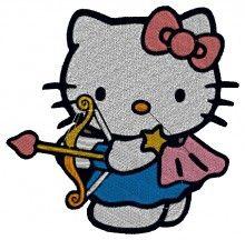 Sagittarius the Archer Kitty Embroidery brother free embroidery designs machine embroidery designs