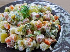 Russian Salad (with ham not tuna)
