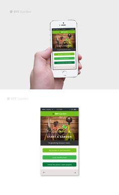 Mobile App Design / UI / UX Heart & Ram Design Co. www.heartandram.com