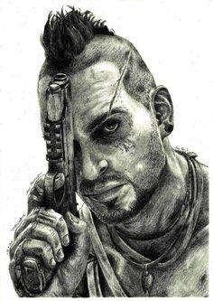 Far Cry 3 - Vaas Montenegro by PatrisB.deviantart.com on @DeviantArt