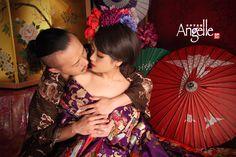 couple Oiran カップル花魁体験 #京都 #花魁体験 #変身写真 #kyoto #Oiran #couple