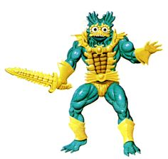 Mer-Man	  Ocean Warlord!  Masters of the Universe