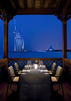 Madinat Jumeirah - Dubai Restaurants - Pierchic - seafood - Romantic Dining