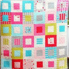 36 Box Block Quilt