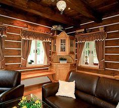 Luxusně vybavená Chalupa Roubalka nabízí nadstandardní ubytování v Krkonoších nedaleko lyžařského centera Černý Důl. Tradiční roubenka Roubalka je postavena na klidném místě u řeky s výhledem do korun stromů jako u Krakonoše. Curtains, Home Decor, Blinds, Decoration Home, Room Decor, Draping, Home Interior Design, Picture Window Treatments, Home Decoration
