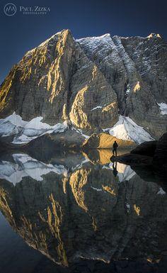 Numa Mountain and Floe Lake, Kootenay National Park, British Columbia, Canada