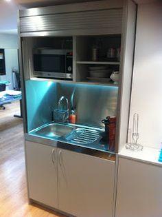 Marzua: Stengel Ibérica. Cocinas compactas en oficinas