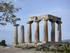 Templo de Apolo - Corinto