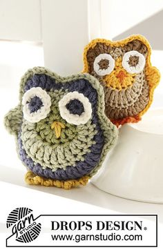 Archimedes - Owls ~ free pattern ᛡ