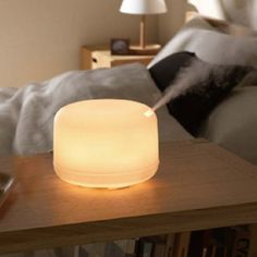 ECVISION Rotation Aroma Diffuser Ultrasonic Humidifier LED Color Changing Ionizer