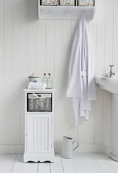 small white cabinet for bathroom | My Web Value