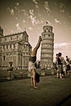 Yoga..anytime, anywhere!