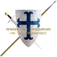 Aymeric and Guillaume de Montalembert. They came from poitou though their family originate from Bretagne. Taking the Cross in 1248 they followed Pierre Mauclerc to join the latter stages of the sixth crusade.