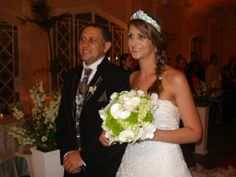 Noivos Carla e Celinho