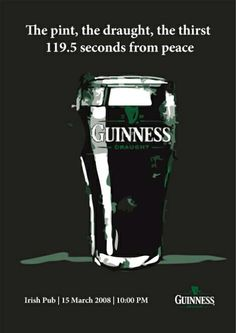 Today, we bring to you an assortment of 30 creative and funny beer advertisements. Why beer? Well, who doesn't like a beer! Guinness Recipes, Guinness Beef Stew, Guinness Advert, Beer Advertisement, Guinness Draught, Irish Beer, Premium Beer, Beer Quotes, Beer Humor