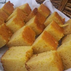 Moist and Easy Cornbread uses butter and butter milk make one 8 indh square pan