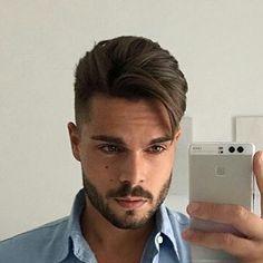 Trendy Men's Haircuts Image Description - Mens Hairstyles 2018, Mens Hairstyles With Beard, Hair And Beard Styles, Hairstyles Haircuts, Haircuts For Men, Short Hair Styles, Gents Hair Style, Men Hair Color, Hair Today