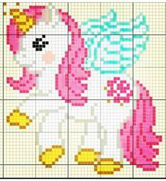 Crochet Patterns Free Blanket Disney Punto De Cruz Ideas For 2019 Unicorn Cross Stitch Pattern, Cross Stitch Baby, Cross Stitch Charts, Cross Stitch Designs, Cross Stitch Patterns, Loom Beading, Beading Patterns, Loom Patterns, Cross Stitching