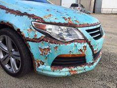 Volkswagen rusty wrap