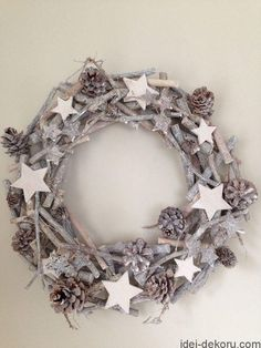 Julekrans-Julekrans, You are in the right place about jul krans… Christmas Mood, Rustic Christmas, Holiday, Diy Wreath, Burlap Wreath, Christmas Crafts, Christmas Decorations, Christmas Ornaments, Xmas Wreaths