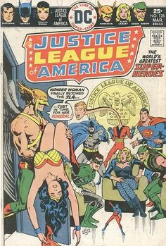 """Wonder Woman, unsure of herself after her """"Plain Jane Diana Prince"""" period, asked JLA comrades to observe 12 cases after her powers returned (and boy, is she tired!). Cover by Ernie Chan (it's a long story why it's """"Ernie Chua"""" on the cover; LGT the story)."""
