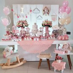 25 Ideas photography kids ideas diy birthday parties for 2019 Mesa Dulces Baby Shower, Fiesta Baby Shower, Diy Birthday, Birthday Parties, Ballerina Party, Bday Girl, Festa Party, Candy Table, Birthday Decorations