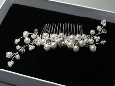Braut Haar-Accessoire Hochzeit Hair Accessory von BeautifulBeau