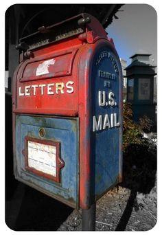 vintage mailbox - Google Search