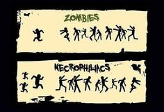 the new defence against zombies - make sure your zombie plan includes at least 1!